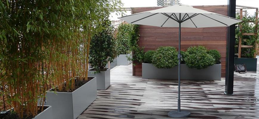 Hélios                   -                   Hélios, achthoekig ø270cm LED parasol