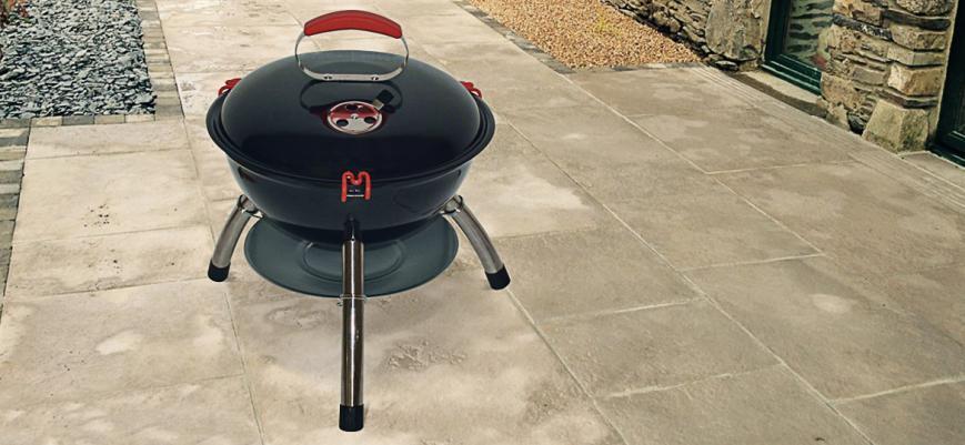 Marcel                   -                   Marcel, houtskool mini barbecue Ø35cm zwart