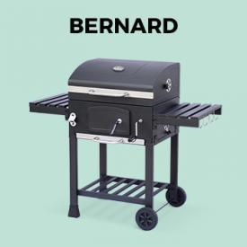 Barbacoas y Estufas de gas                                                                                                                                                      - Barbacoa de parrilla de carbón vegetal Bernard