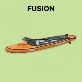 "FUSION                                                                                                                                                      - Stand Up Paddle inflable - Fusion 10'4 ""- 15 cm de espesor - con bomba, pala, correa, bolsa de almacenamiento"