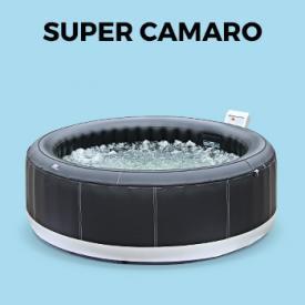 SUPER CAMARO                                                                                                                                                      - Spa MSPA y jacuzzis hinchable para exterior, 6 plazas, 205cm | Super camaro