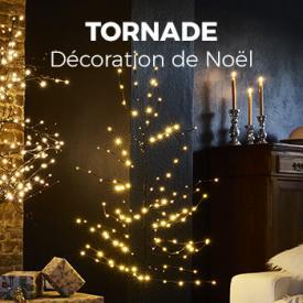 Décorations de jardin                                                                                                                                                      - Arbre lumineux de 150 cm, 144 leds et pied inclus - décoration de Noël