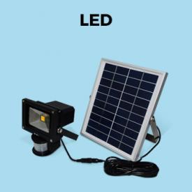 Tuindecoratie                                                                                                                                                      - Zeer krachtige op zonne-energie LED  projector van 5W 550 lumens