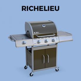 Barbecues Terrasverwarmers                                                                                                                                                      - Gasbarbecue 3 branders + zijbrander, grillzijde en bakplaat - gasaansluiting G1/2 F15-21 meegeleverd